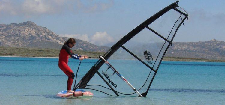 Apprendre le windsurf pendant ses vacances
