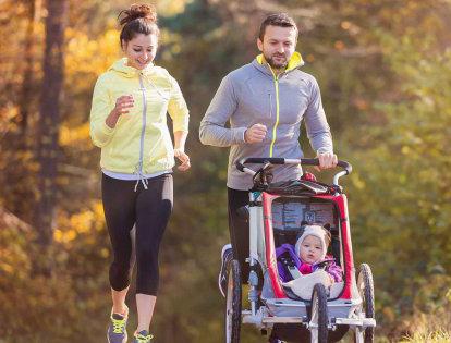 Poussette running, le bon matériel pour courir avec vos enfants